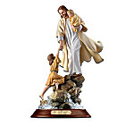Home Decor Collectibles Visions Of Saving Grace Jesus Christ Figurine Collection: Christian Religious Home Decor