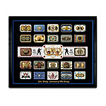 Elvis Presley Belt Buckle Collection