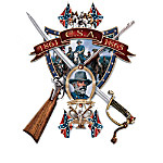 Legends Of The Civil War Confederate Wall Decor Art Collection