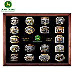 John Deere Collectible Belt Buckle Collection
