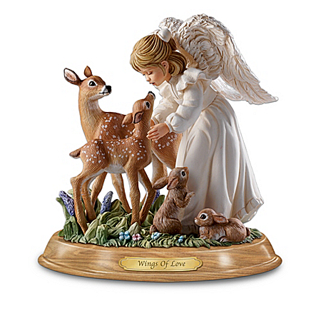Nature's Blessings Guardian Angel Figurine Collection