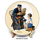 Collector Plate: Norman Rockwell Society Heritage Plate Collection
