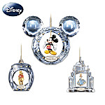 Ultimate Disney Character Crystal Christmas Ornament Collection: Crystal Reflections