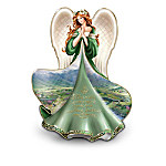 Irish-Inspired Porcelain Angel Figurine Collection: Blessings Of The Emerald Isle