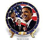 Barack Obama 44th President Of The United States Collector Plate Collection