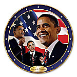 Barack Obama 44th President Of The United States Collector Plate