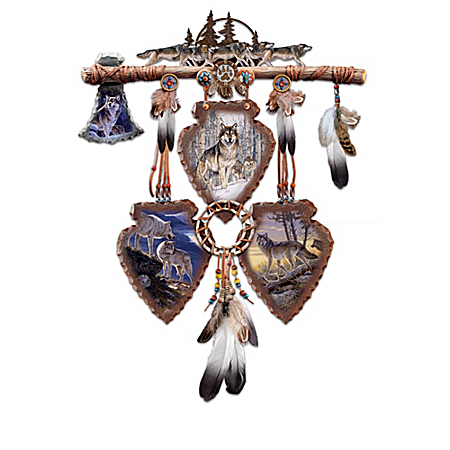 Native American Inspired Wall Decor Collection: Spirits Of The Pack