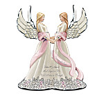 Breast Cancer Support Heirloom Porcelain Musical Figurine Collection: Sisters Of Hope