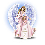 Daughter's Crystal-Winged Musical Angel Figurine Collection
