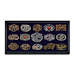 Dragon-Themed Fantasy Art Belt Buckle Collection: Dragon's Might