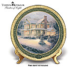 Thomas Kinkade Cherished Christmas Memories Annual Collector Plate Collection