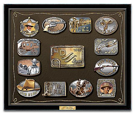 John Wayne Belt Buckle Wall Art Collection