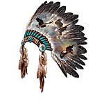 Sacred Tribal Spirits With Eagle Art Wall Decor Collection