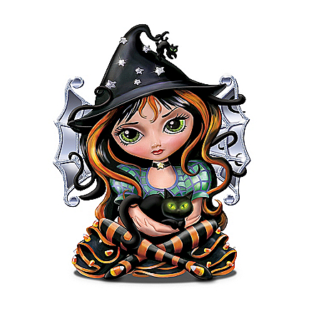 Jasmine Becket Griffith Bewitching Tales Halloween Figurine Collection