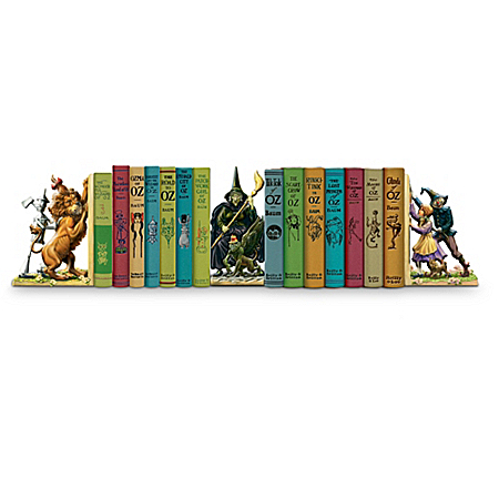 The Complete Wizard Of Oz First Edition Library Book Collection: By L. Frank Baum