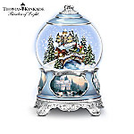 Musical Snow Globes Thomas Kinkade Songs Of The Season Holiday Snowglobe Collection