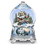 Thomas Kinkade Songs Of The Season Holiday Snowglobe Collection