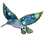 Flight Of The Masters Wall Decor Collection: Porcelain Hummingbird Wall Sculptures
