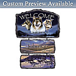 Sentinels Of The Seasons Personalized Welcome Wall Decor Collection