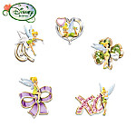 "Disney ""Winks From Tink"" Tinker Bell Pin Collection"
