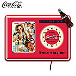COCA-COLA Wall Clock Collection: It's Time For COCA-COLA