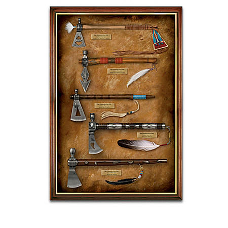 American Replica Pipe Tomahawk Wall Decor Collection