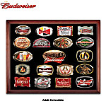 Budweiser Collectible Belt Buckle Collection
