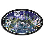"""Eternal Twilight"" Glow-In-The-Dark Fantasy Art Wall Decor Collection"
