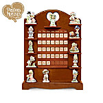 Precious Moments Throughout The Year Decorative Wooden Perpetual Calendar Collection