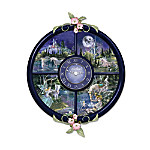 Glow-In-The-Dark Timeless Magic Fairy Fantasy Wall Clock Collection