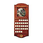 Thomas Kinkade Simpler Times Collector Plate Calendar Collection