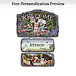 Cozy Companions Welcome Sign