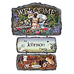 Personalized Welcome Sign Collection - Cozy Companions