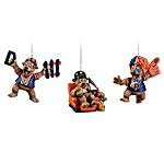 The Chicago Bears Grreatest Fans Ornament Collection