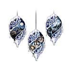 Silver Spirits Wolf Ornament Collection: Sets Of Three