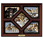 Wolf Art Wall Decor Collection: The Wolves Of Yellowstone