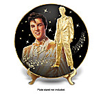 Elvis The Solid Gold Standard Collector Plate Collection