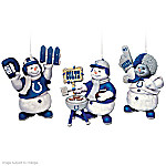 """The Indianapolis Colts """"Coolest Fans"""" Ornament Collection"""