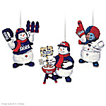 "The New England Patriots ""Coolest Fans"" Ornament Collection"