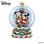 Musical Snow Globes Disney Miniature Snowglobe Collection