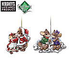 Charming Tails And Hershey's Ornament Collection: Sweet And Charming