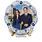 William And Kate: A Royal Union Heirloom Porcelain Collector Plate Collection