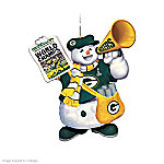 """The Green Bay Packers """"Coolest Fans"""" Ornament Collection"""