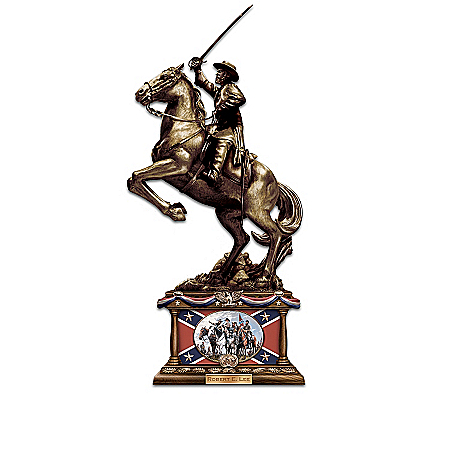 """Heroes of the Homeland"" A True-To-Life Civil War Cold-Cast Bronze Sculpture Collection"