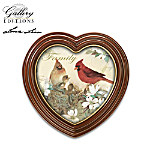 "Lena Liu Plates Lena Liu ""Gentle Expressions"" Songbird Art Framed Canvas Print Wall Decor Collection"