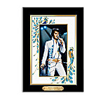 Elvis Presley's Canvas Print Wall Decor Collection Portraits Of Style