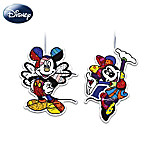 Britto Magical Mickey Holiday Ornament Collection