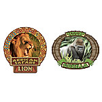 African Safari Patch Collection