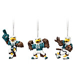 NFL Philadelphia Eagles Swoop Christmas Ornament Collection