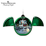 Thomas Kinkade Musical Christmas Ornament Collection: Hidden Treasures